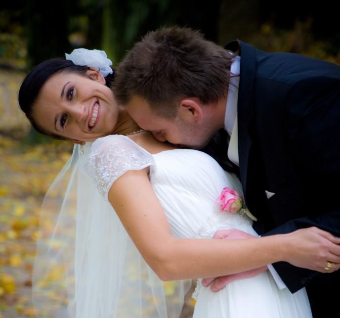 Rewelacyjny film ślubny - ujęcia z powietrza