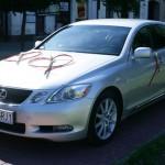 Wynajem auta - ślub
